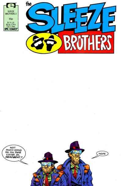 Sleeze Brothers #3 comic books for sale
