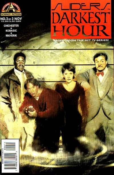 Sliders: Darkest Hour #2 comic books - cover scans photos Sliders: Darkest Hour #2 comic books - covers, picture gallery