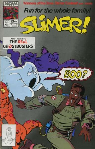 Slimer #13 comic books - cover scans photos Slimer #13 comic books - covers, picture gallery