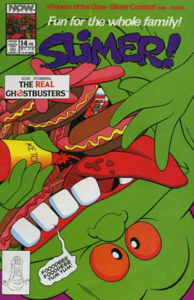 Slimer #14 Comic Books - Covers, Scans, Photos  in Slimer Comic Books - Covers, Scans, Gallery