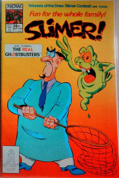 Slimer #19 Comic Books - Covers, Scans, Photos  in Slimer Comic Books - Covers, Scans, Gallery