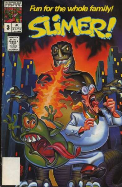 Slimer #3 comic books - cover scans photos Slimer #3 comic books - covers, picture gallery