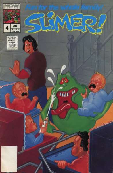 Slimer #4 comic books - cover scans photos Slimer #4 comic books - covers, picture gallery
