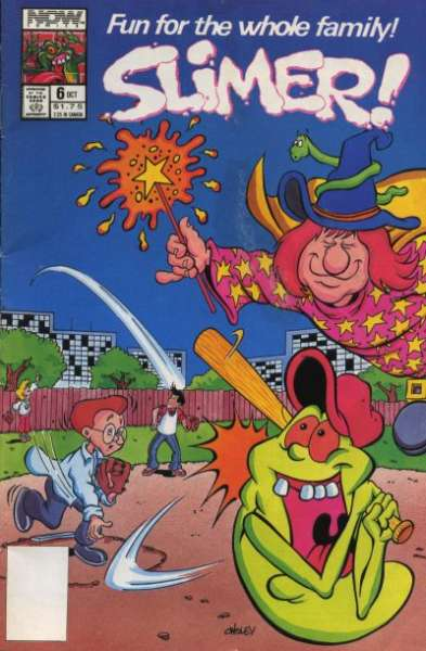 Slimer #6 Comic Books - Covers, Scans, Photos  in Slimer Comic Books - Covers, Scans, Gallery