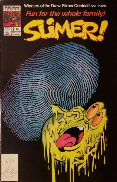 Slimer #7 comic books - cover scans photos Slimer #7 comic books - covers, picture gallery