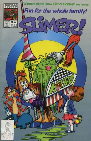 Slimer #9 Comic Books - Covers, Scans, Photos  in Slimer Comic Books - Covers, Scans, Gallery