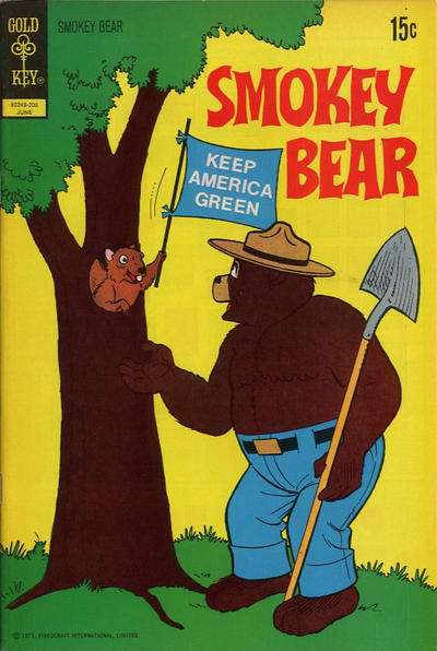 Smokey Bear #10 comic books - cover scans photos Smokey Bear #10 comic books - covers, picture gallery