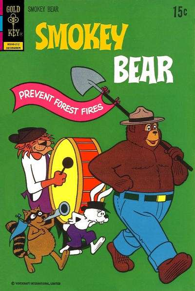 Smokey Bear #12 Comic Books - Covers, Scans, Photos  in Smokey Bear Comic Books - Covers, Scans, Gallery
