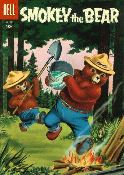 Smokey the Bear comic books