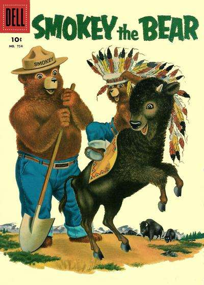 Smokey the Bear #3 comic books - cover scans photos Smokey the Bear #3 comic books - covers, picture gallery