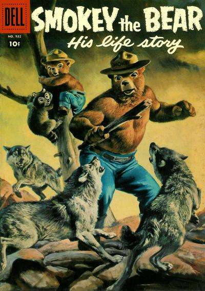 Smokey the Bear #5 comic books - cover scans photos Smokey the Bear #5 comic books - covers, picture gallery