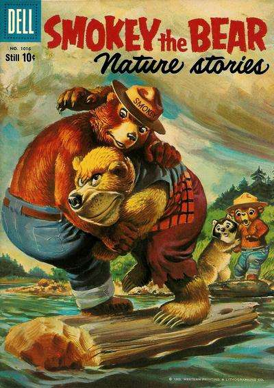 Smokey the Bear #6 Comic Books - Covers, Scans, Photos  in Smokey the Bear Comic Books - Covers, Scans, Gallery