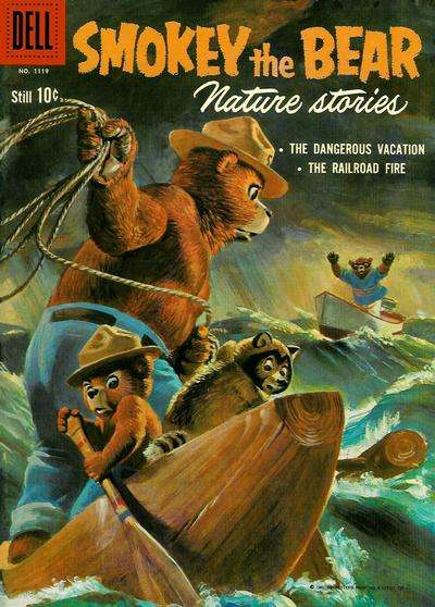 Smokey the Bear #7 comic books - cover scans photos Smokey the Bear #7 comic books - covers, picture gallery