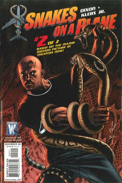 Snakes on a Plane #2 comic books for sale
