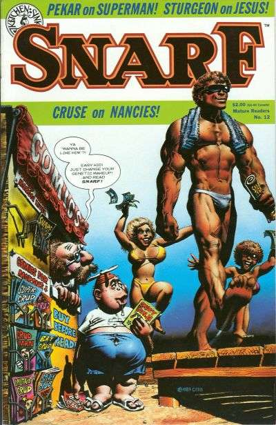 Snarf #12 comic books for sale