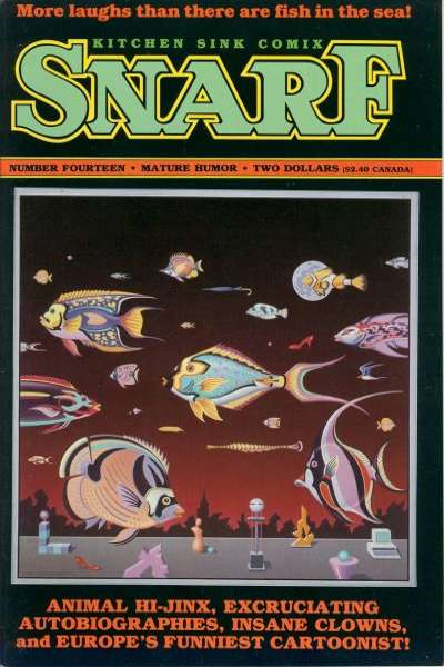 Snarf #14 comic books for sale