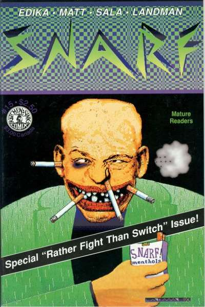 Snarf #15 comic books - cover scans photos Snarf #15 comic books - covers, picture gallery