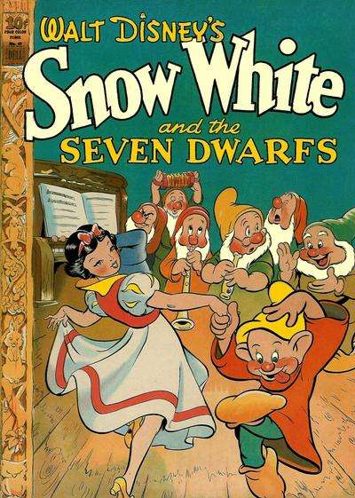 Snow White comic books