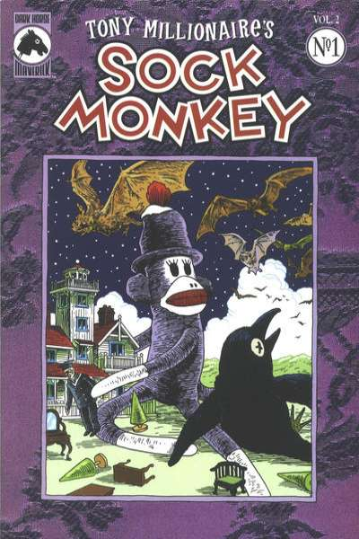 Sock Monkey #1 Comic Books - Covers, Scans, Photos  in Sock Monkey Comic Books - Covers, Scans, Gallery