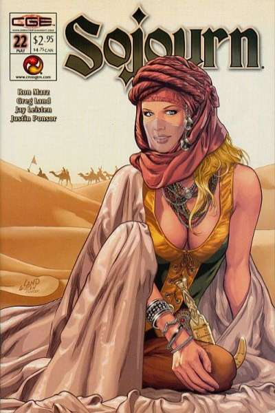 Sojourn #22 Comic Books - Covers, Scans, Photos  in Sojourn Comic Books - Covers, Scans, Gallery