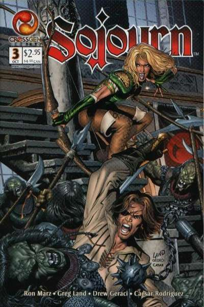Sojourn #3 comic books - cover scans photos Sojourn #3 comic books - covers, picture gallery