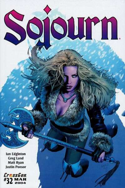 Sojourn #32 comic books for sale