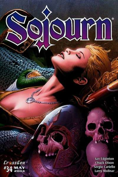 Sojourn #34 comic books for sale