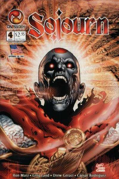 Sojourn #4 Comic Books - Covers, Scans, Photos  in Sojourn Comic Books - Covers, Scans, Gallery