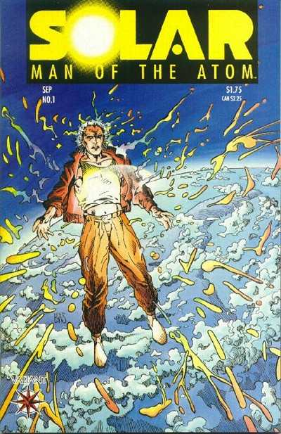 Solar #1 Comic Books - Covers, Scans, Photos  in Solar Comic Books - Covers, Scans, Gallery