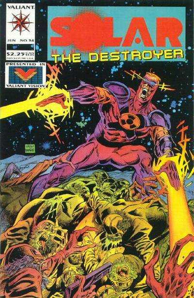 Solar #34 Comic Books - Covers, Scans, Photos  in Solar Comic Books - Covers, Scans, Gallery
