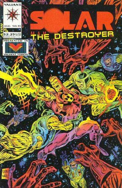 Solar #35 Comic Books - Covers, Scans, Photos  in Solar Comic Books - Covers, Scans, Gallery