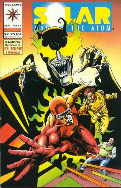 Solar #36 Comic Books - Covers, Scans, Photos  in Solar Comic Books - Covers, Scans, Gallery