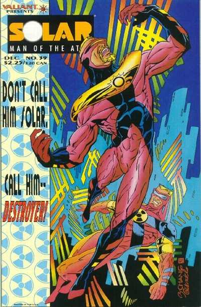 Solar #39 Comic Books - Covers, Scans, Photos  in Solar Comic Books - Covers, Scans, Gallery
