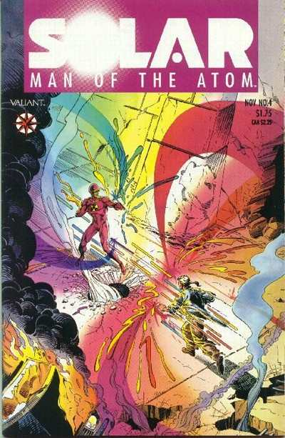Solar #4 Comic Books - Covers, Scans, Photos  in Solar Comic Books - Covers, Scans, Gallery