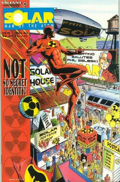 Solar #41 comic books for sale