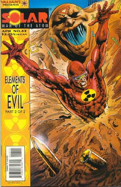 Solar #43 Comic Books - Covers, Scans, Photos  in Solar Comic Books - Covers, Scans, Gallery