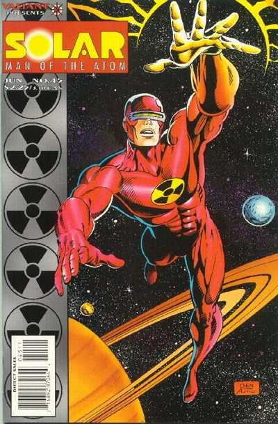 Solar #45 comic books - cover scans photos Solar #45 comic books - covers, picture gallery