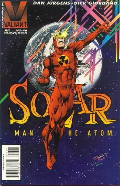 Solar #46 comic books - cover scans photos Solar #46 comic books - covers, picture gallery