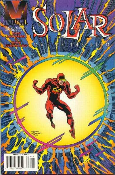 Solar #47 Comic Books - Covers, Scans, Photos  in Solar Comic Books - Covers, Scans, Gallery