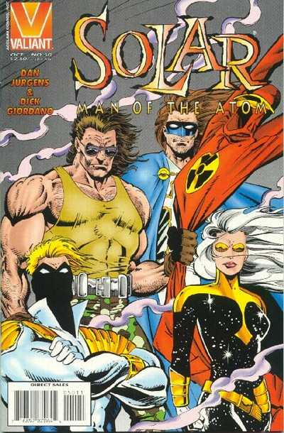 Solar #50 cheap bargain discounted comic books Solar #50 comic books