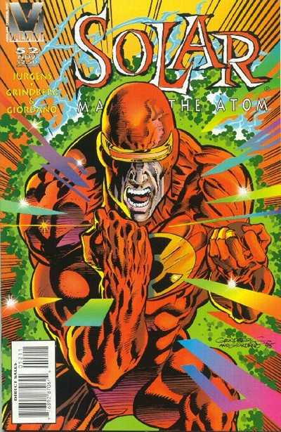 Solar #52 comic books - cover scans photos Solar #52 comic books - covers, picture gallery