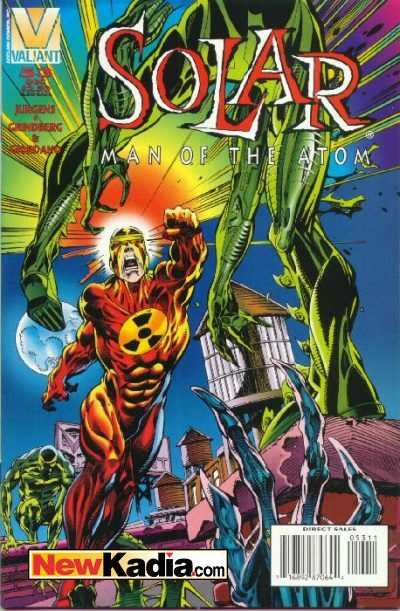 Solar #53 comic books - cover scans photos Solar #53 comic books - covers, picture gallery