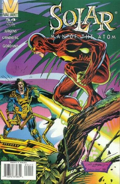 Solar #54 Comic Books - Covers, Scans, Photos  in Solar Comic Books - Covers, Scans, Gallery