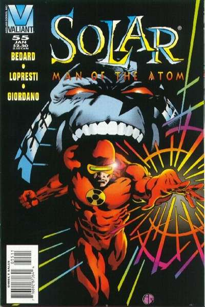 Solar #55 Comic Books - Covers, Scans, Photos  in Solar Comic Books - Covers, Scans, Gallery