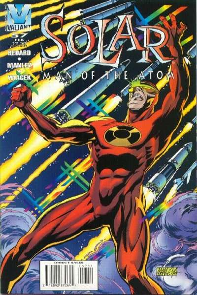 Solar #57 comic books - cover scans photos Solar #57 comic books - covers, picture gallery