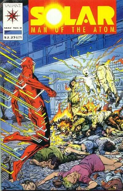 Solar #9 Comic Books - Covers, Scans, Photos  in Solar Comic Books - Covers, Scans, Gallery