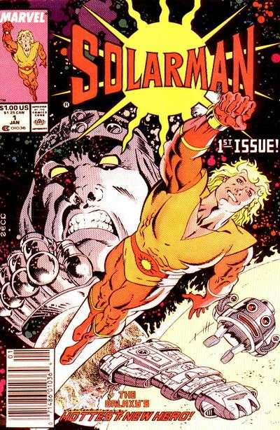 Solarman comic books