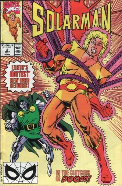 Solarman #2 comic books - cover scans photos Solarman #2 comic books - covers, picture gallery
