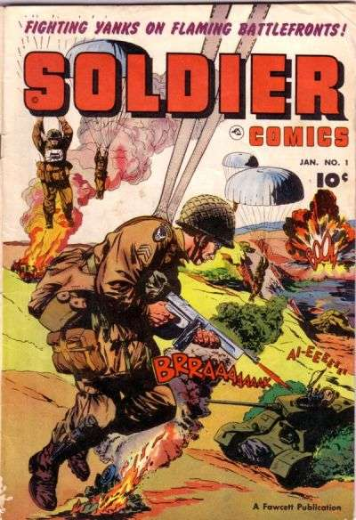 Soldier Comics #1 comic books - cover scans photos Soldier Comics #1 comic books - covers, picture gallery