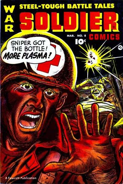 Soldier Comics #8 Comic Books - Covers, Scans, Photos  in Soldier Comics Comic Books - Covers, Scans, Gallery
